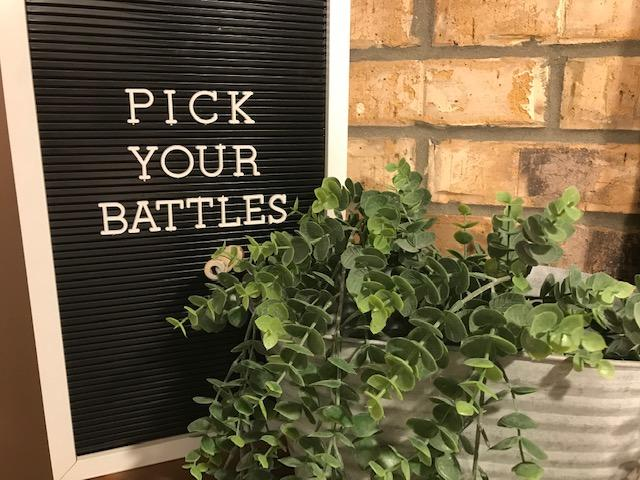 Choose Your Battles Wisely   Chart Pick Your Battles